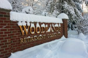 Winter at Woodlands is a wonderful time, especially without having to do any winter chores!