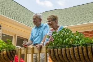 Woodlands provides a comfortable, secure retirement lifestyle for the Kings.