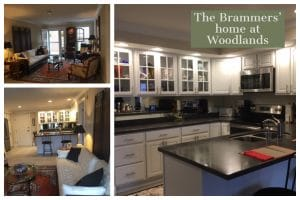 A prime example of the home customization options at Woodlands is the Brammers' home.