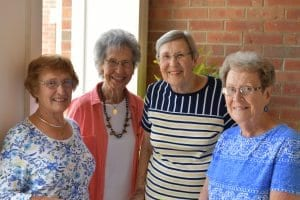 Dot, who is well known in Huntington, makes the most of active senior living at Woodlands