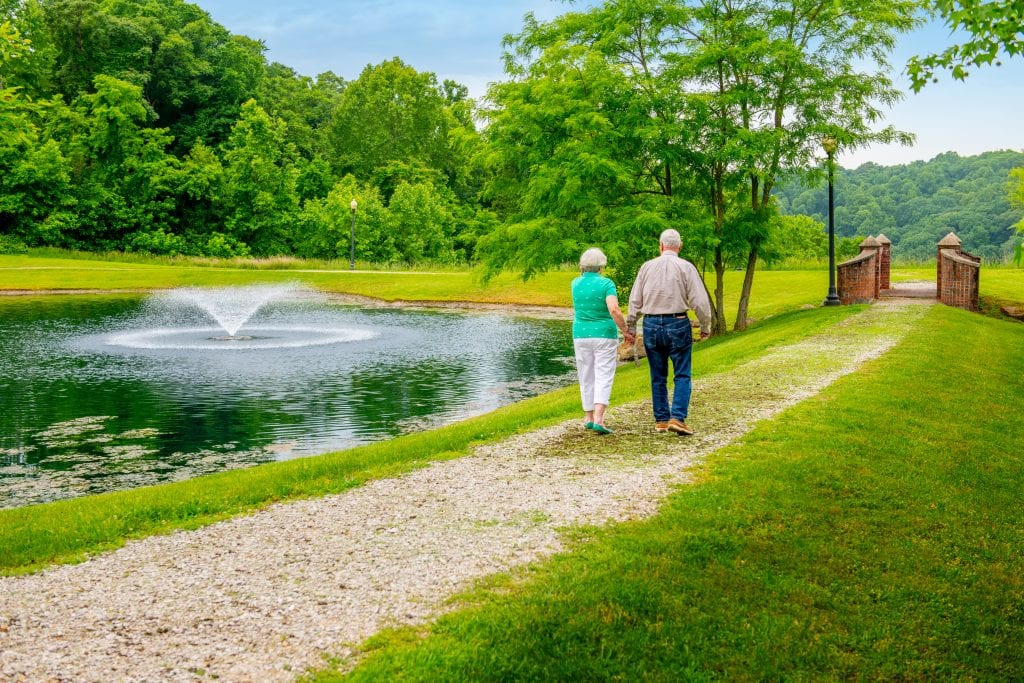 The scenery sets Woodlands apart from other West Virginia retirement communities