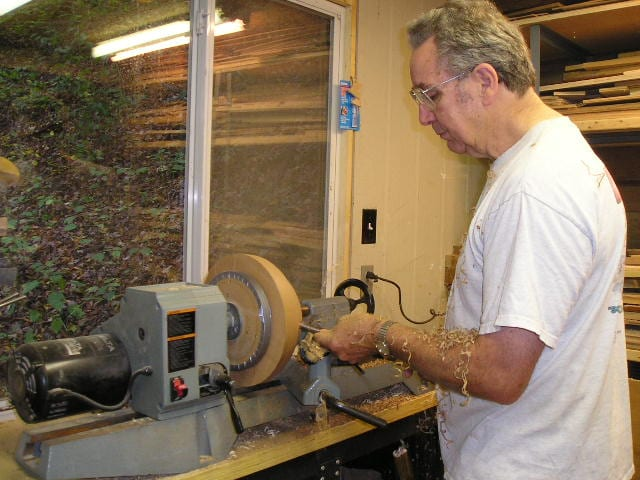 Woodlands Resident & Volunteer Ervin Jones Turns Wood into Wonders for Kids