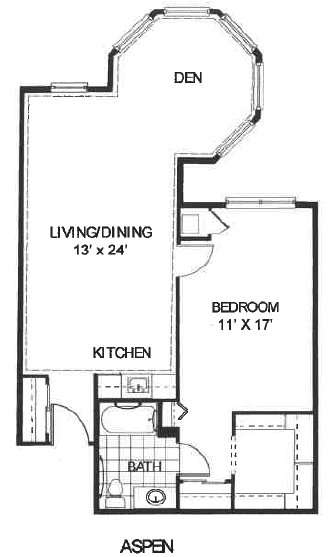 Woodlands Aspen floor plan