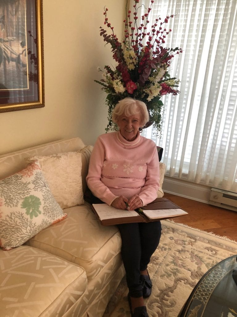 Woodlands resident Mary Lue Light has made retirement living in Huntington even more special with her efforts to document the history of Woodlands.