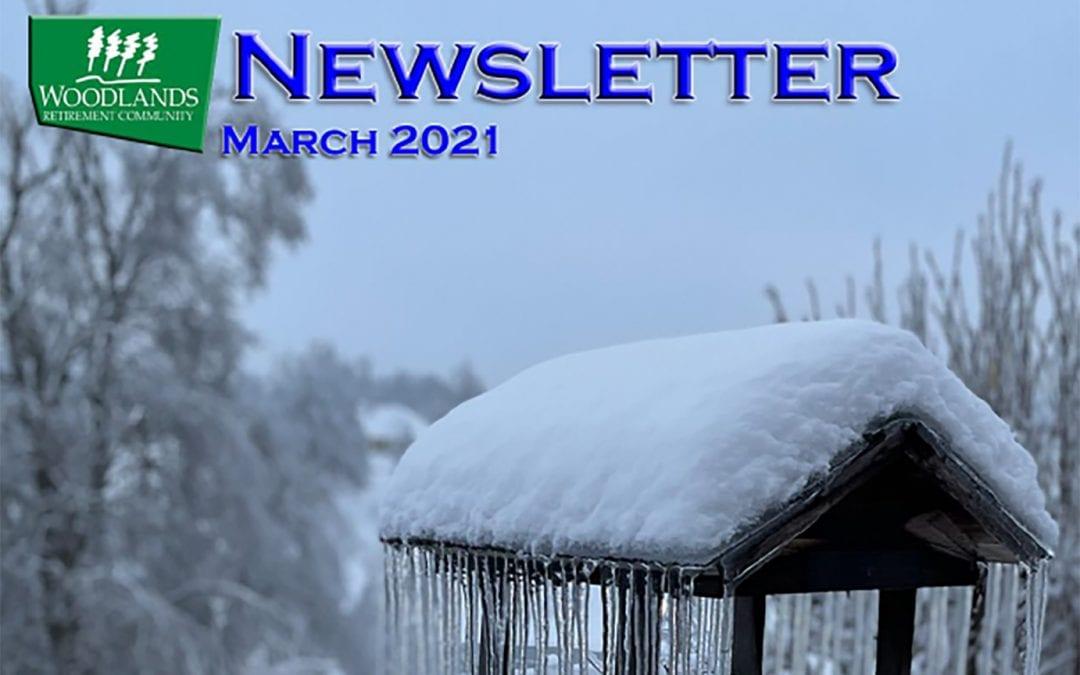 March 2021 Resident Newsletter