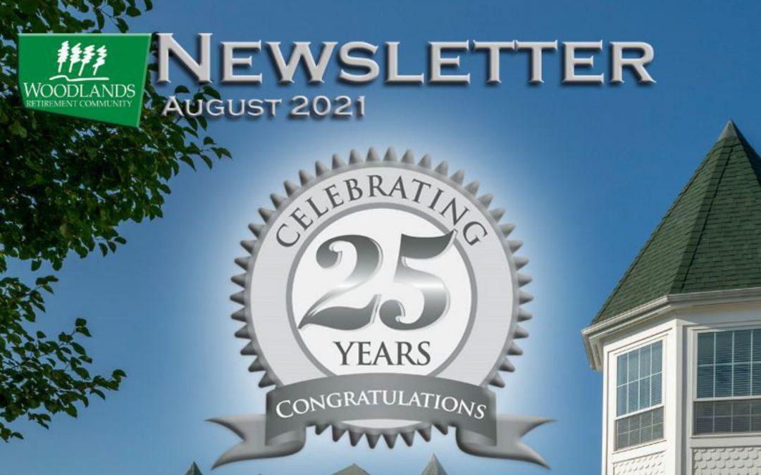 August 2021 Resident Newsletter